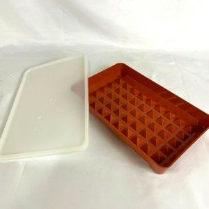 Tupperware Covered Hot Dog Deli Meat Bacon Keeper